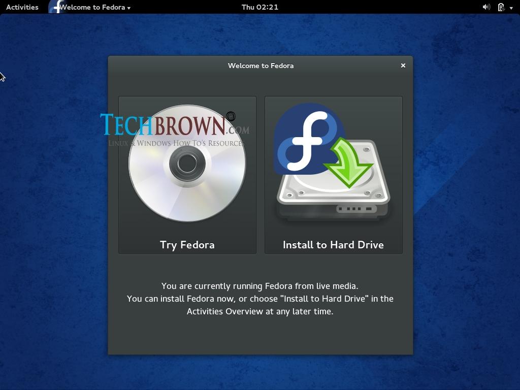 Step-IIStarting-of-Fedora-20-Installation