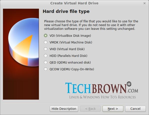 Step-VSelect-Hard-Drive-File-Type