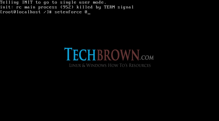 Step-VIDisabled-SElinux-policy
